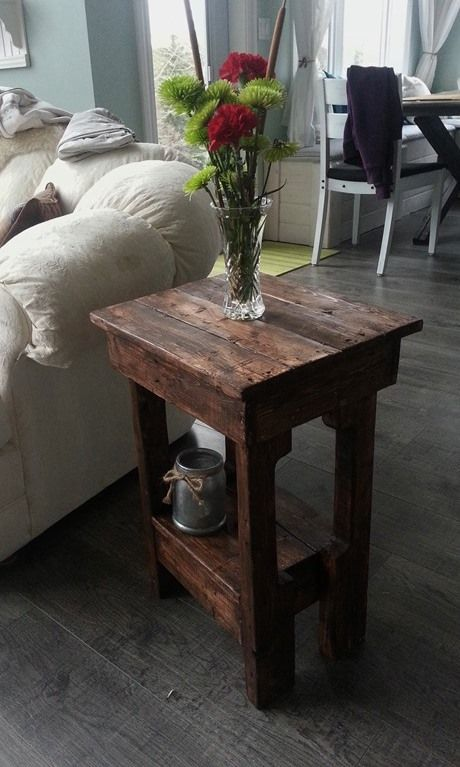 Easy Little End Tables 1
