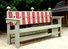 Pallet Benches Chair Pallets