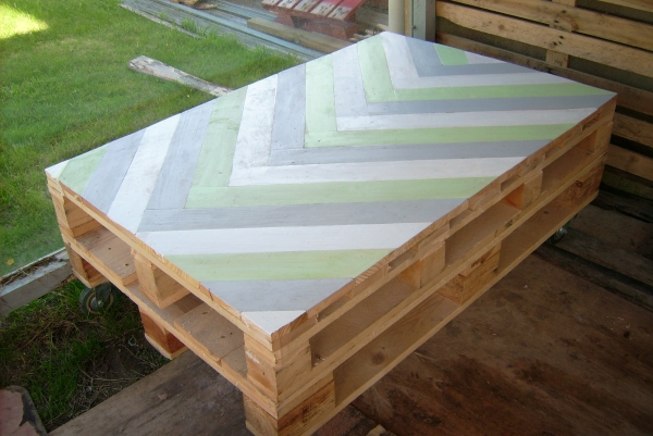 TABLE BASSE STYLE PALETTE