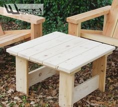 Table basse Table de jardin