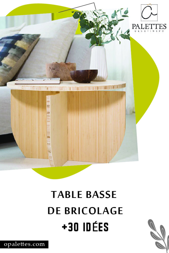 Table basse de bricolage pinterest