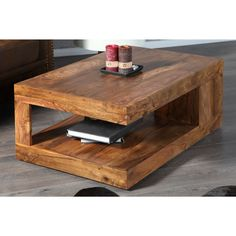 Table basse en bois 1