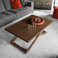 Table basse en bois 2
