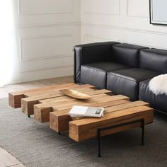 Table basse en bois 3