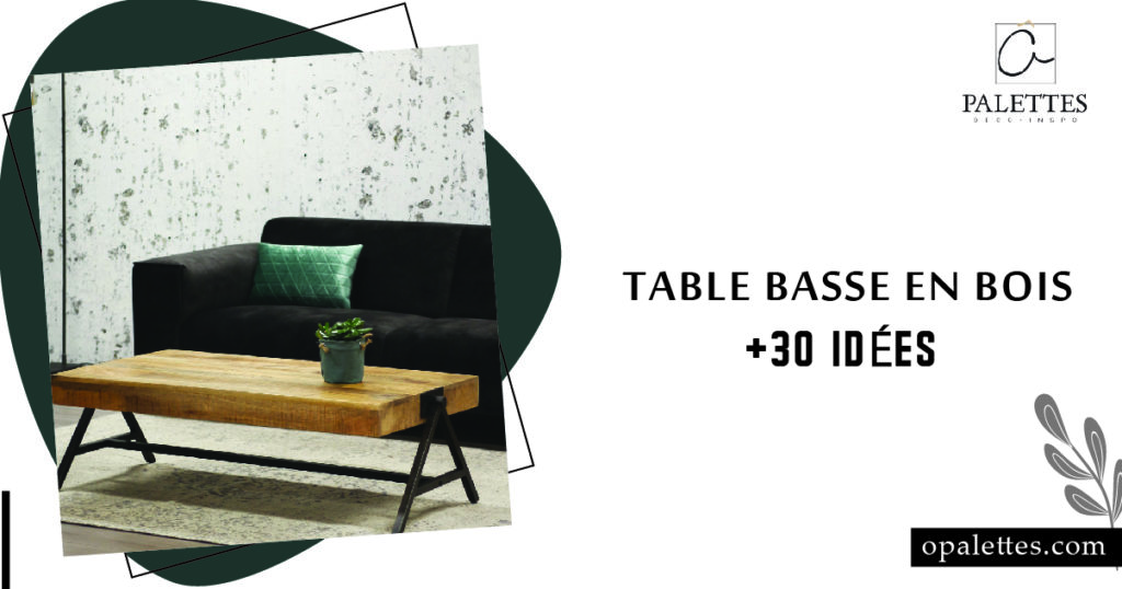 Table basse en bois 4
