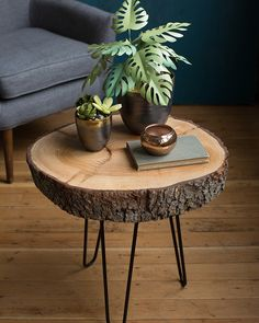 Une table basse naturelle