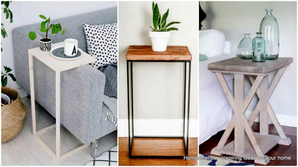 ideas Une table dappoint DIY